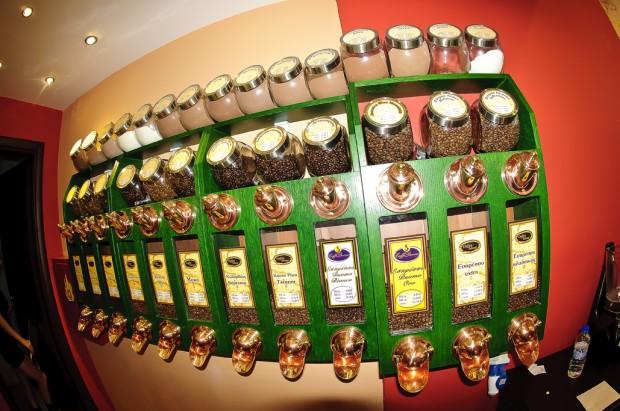 חנות קפה בסלוניקי
