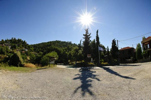 צפון יוון - הכפר Parthenonas village