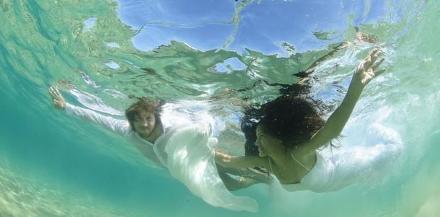 טרש דה דרס מתחת למים