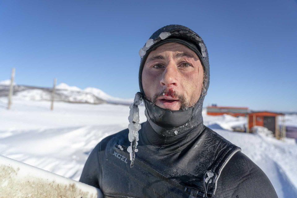 Anton Morozov | גלישה במים קרים
