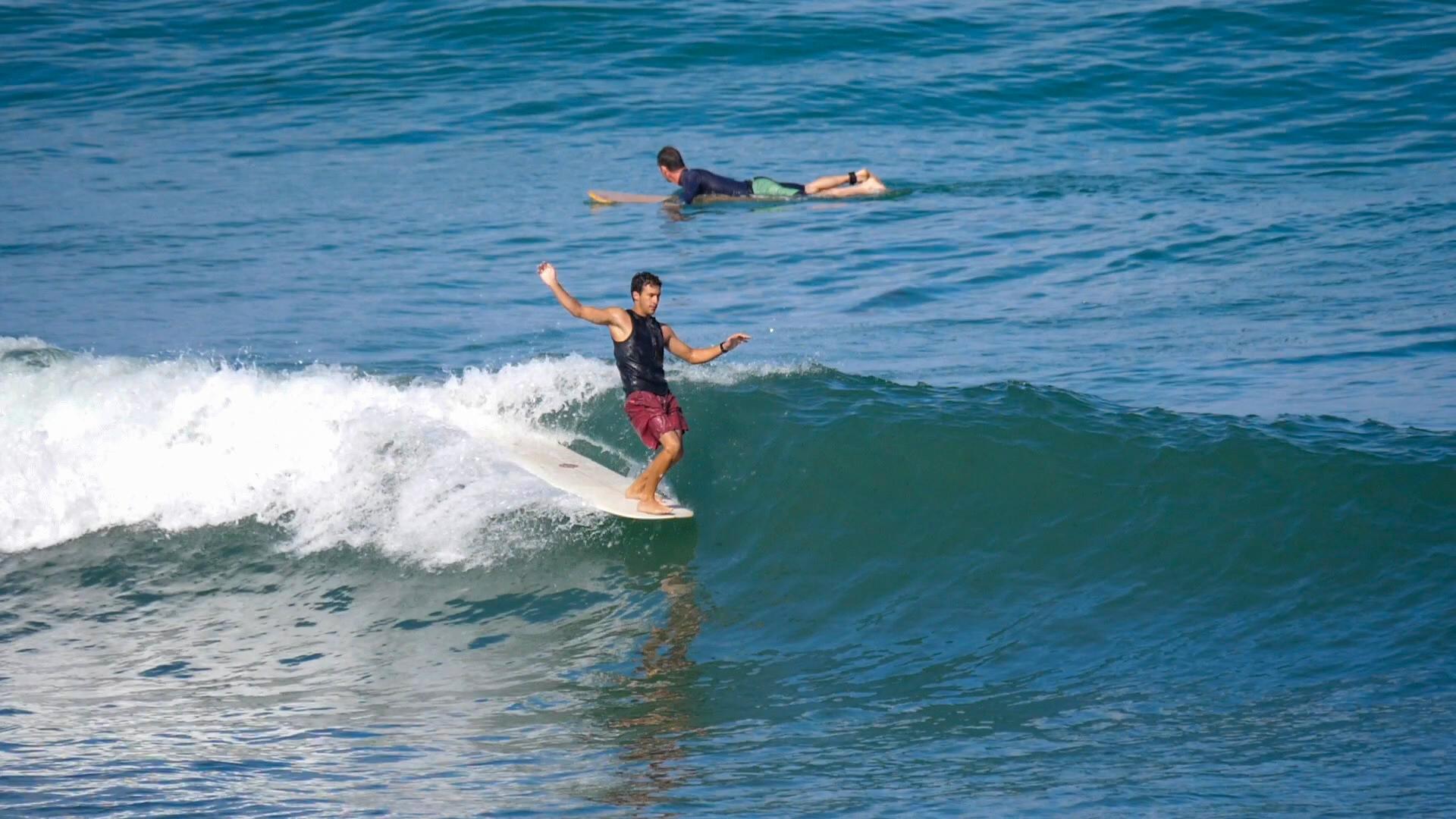 Longboarding in israel - Guy Hummel